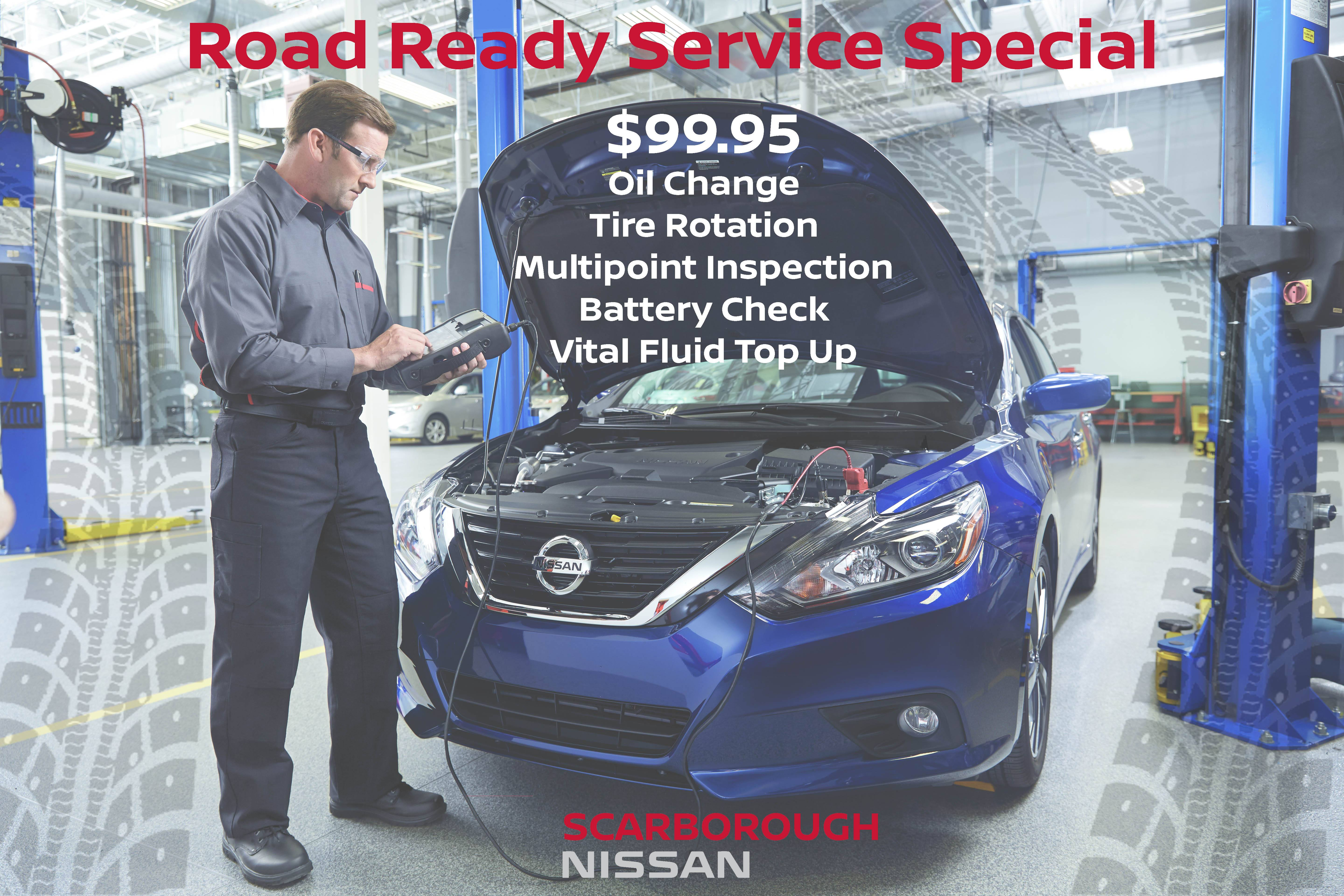 ROAD READY SERVICE SPECIAL