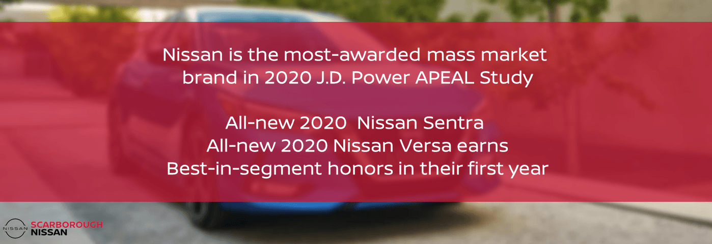 Nissan is the most awarded mass market brand