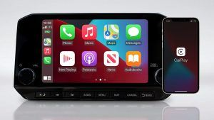 WIRELESS APPLE CARPLAY® INTEGRATION
